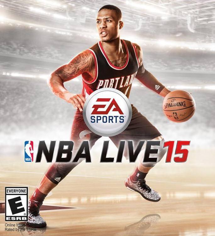 NBA Live 15 Cover Athlete Damian Lillard HoopsVilla : NBA Live 15 Features List