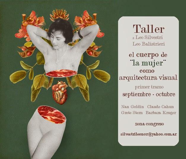 """Taller el cuerpo de la """"mujer"""" como arquitectura visual"""