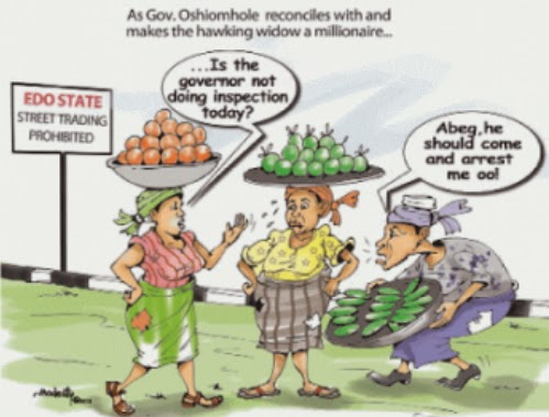 edo state widow governor oshiomhole
