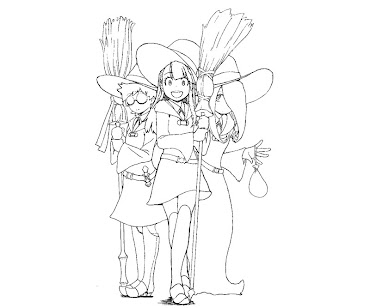 #9 Witch Coloring Page