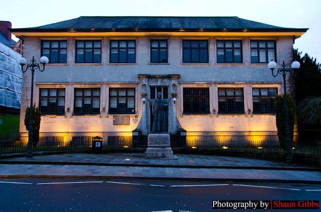 Merthyr Tydfil Library. Photo by Shaun Gibbs