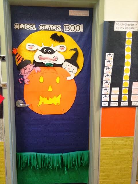 Decorating Ideas > A Teachers Bag Of Tricks Halloween Door Decor And  ~ 030234_Halloween Door Decorations For School