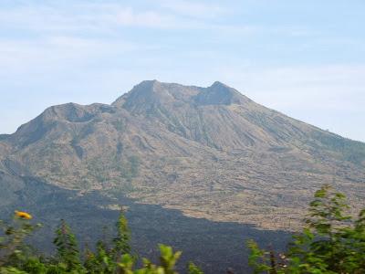 Bali, Indonesia, вулкан, Батур, volcano Batur, sunrise, рассвет, Бали, Индонезия