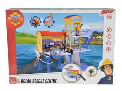 JUGUETES - SAM EL BOMBERO  Ocean Rescue Centre | Centro de rescate en el oceano  Producto Oficial 2015 | Simba Toys 9251663 | A partir de 3 años  Comprar en Amazon