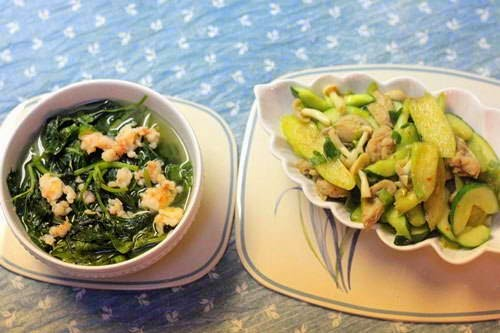 Sweet Potato Leaves Soup Recipe - Canh Rau Khoai Lang