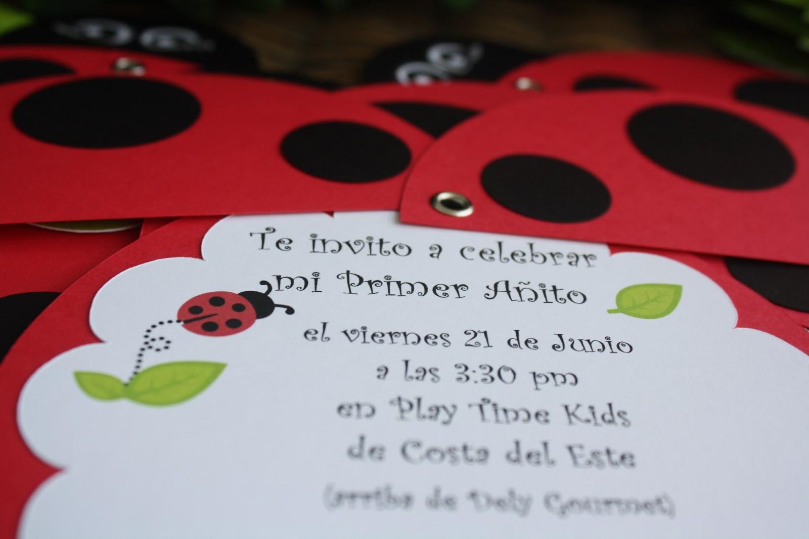 Acuarela: Fiesta Mariquita / Festa Joaninha