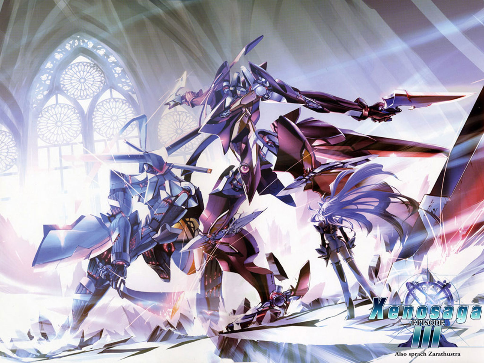 Xenosaga Wallpaper                       Xenogears Wallpaper