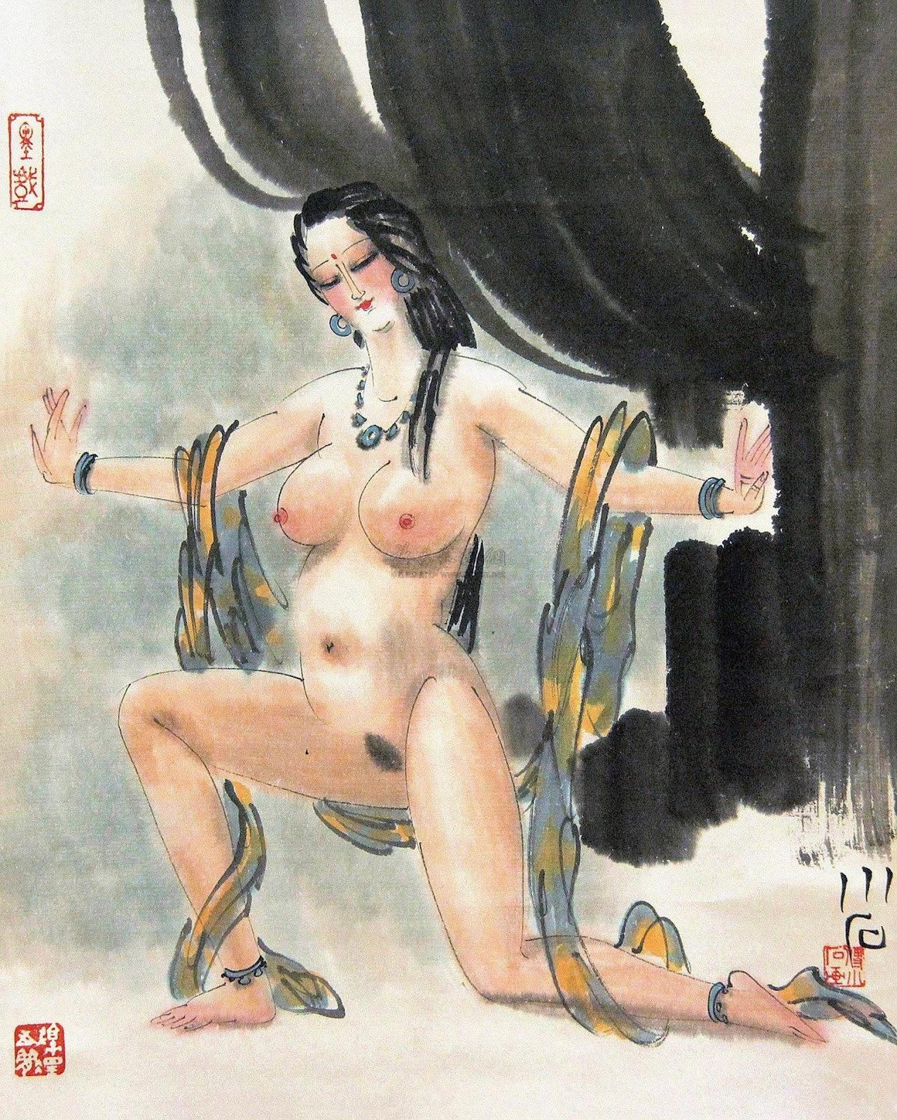 Эротическая живопись китая 9 фотография