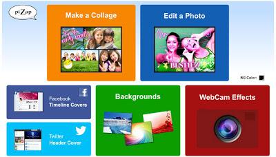сервисы бесплатного фото редактора piZap для новичков