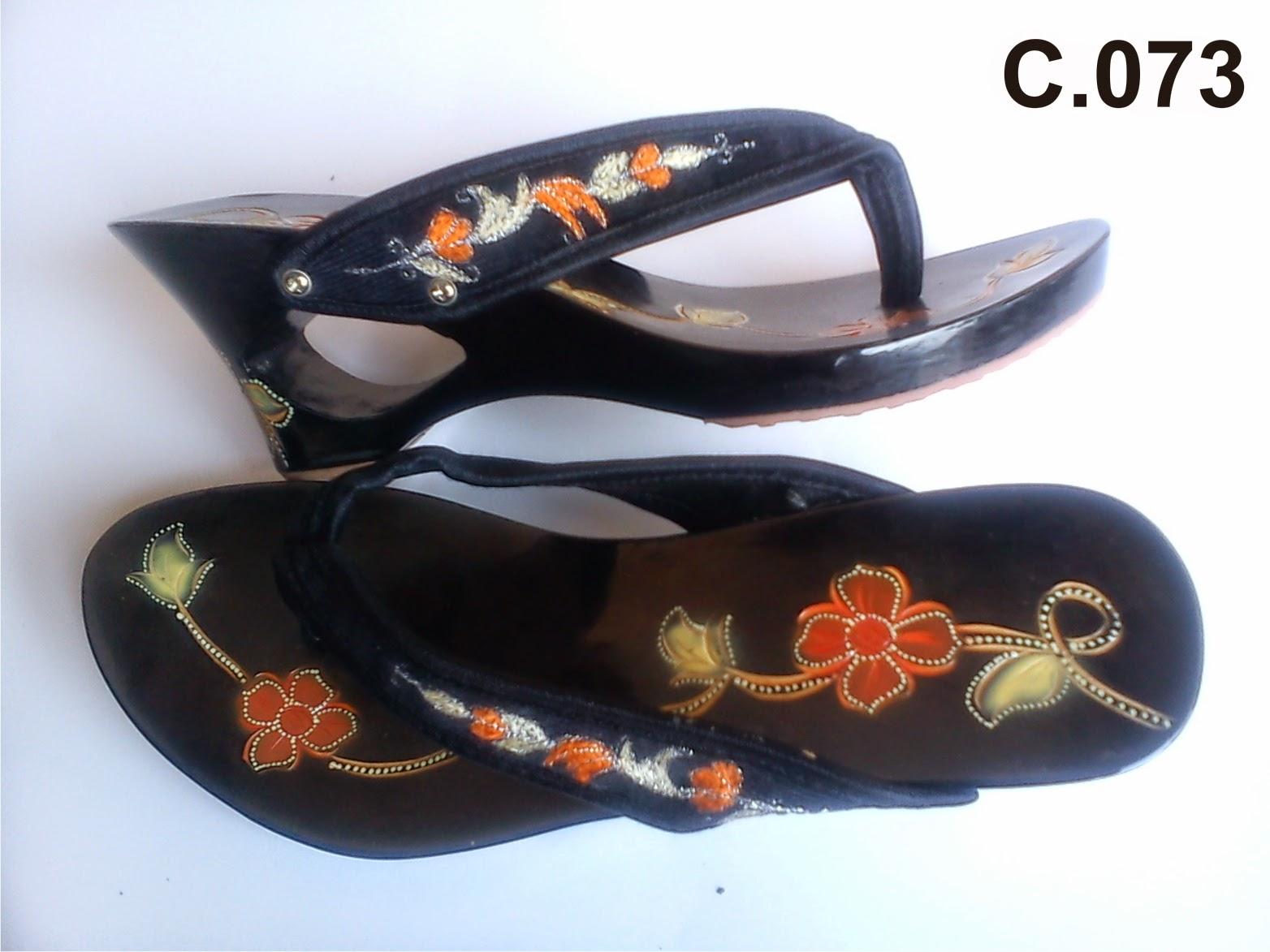 Sandal Fashion Wanita Kelom Geulis Tasikmalaya