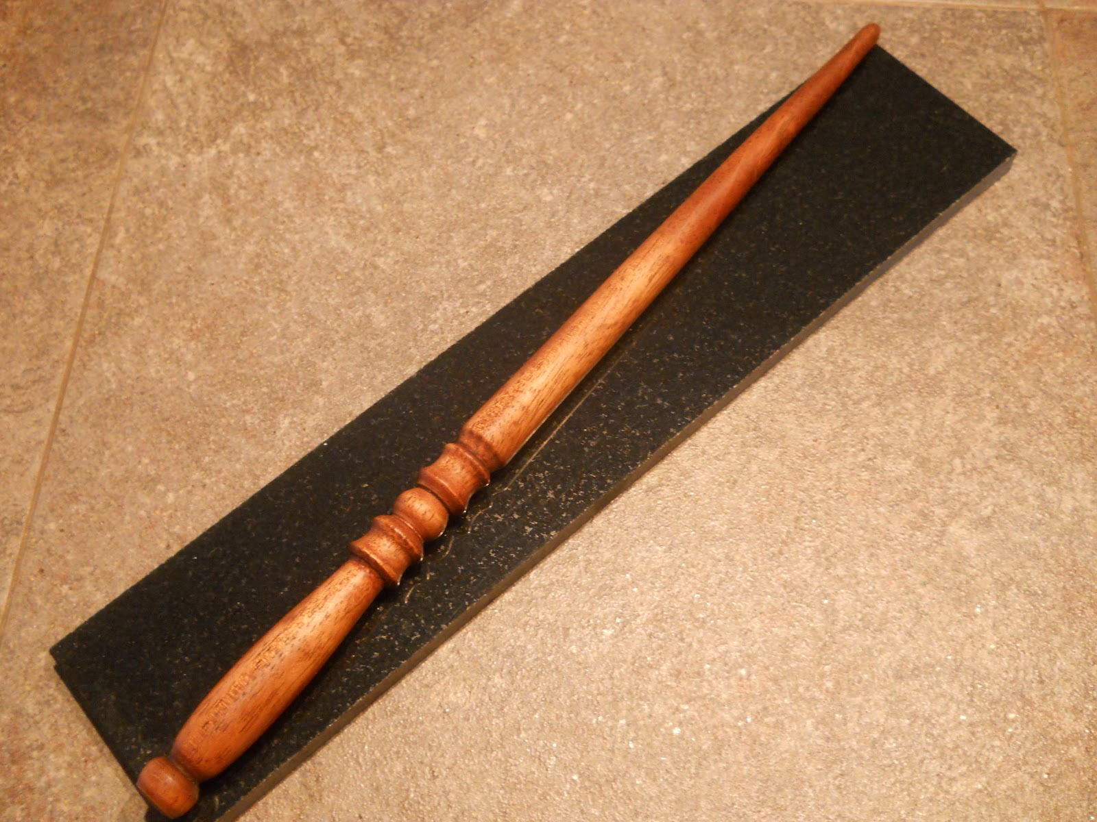 olive elm woodturning wizard wands