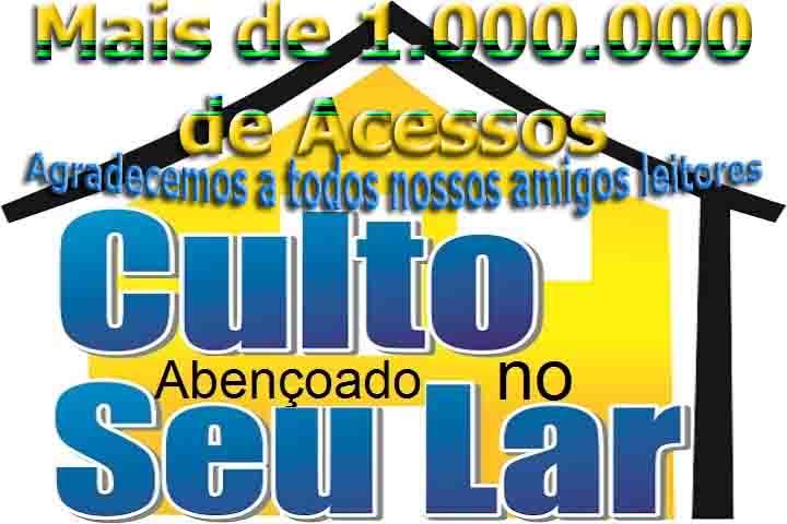 CULTO ABENÇOADO NO SEU LAR