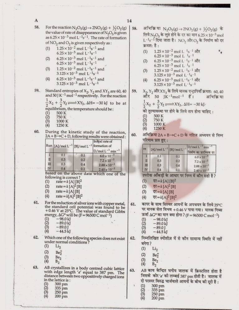 AIPMT 2010 Exam Question Paper Page 14