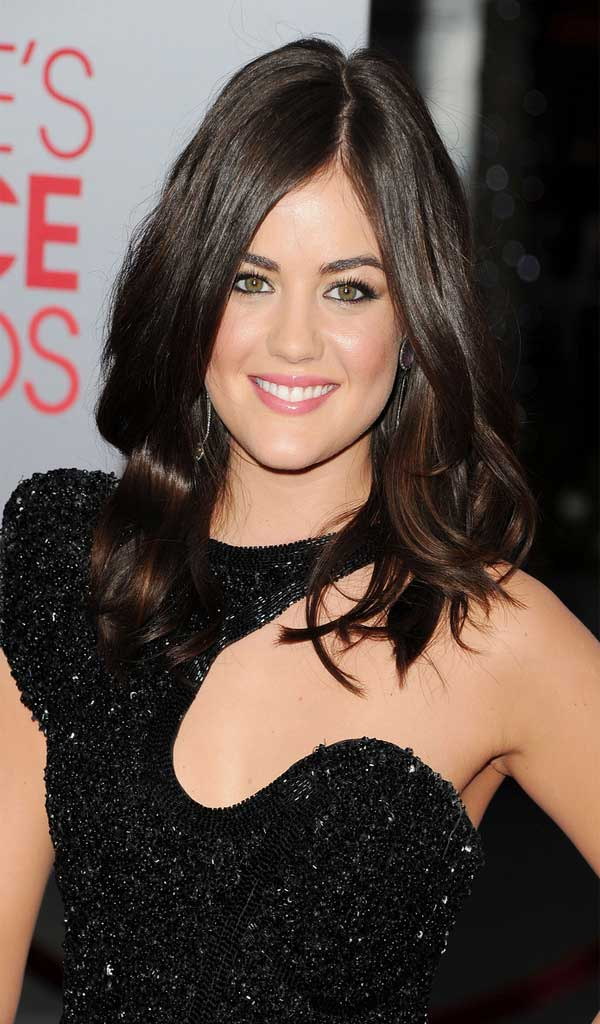 how to get lucy hale hairstyles