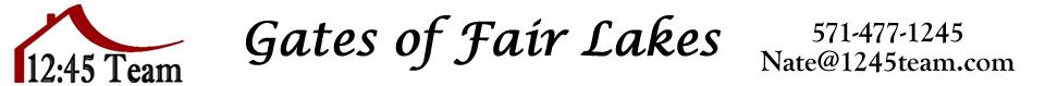 Gates of Fair Lakes Condos