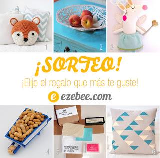 Sorteo Decorar en familia con ezebee.com - 6 regalos a elegir