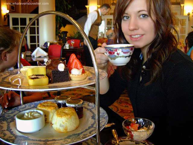 Afternoon Tea at The Empress, Victoria, BC
