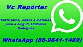 """Blog do Lindomar Rodrigues abre espaço para """"Vc Repórter"""""""