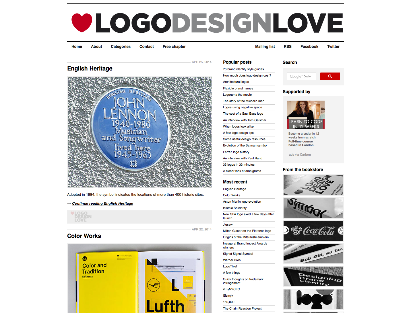 David Airey Presents Logo Design Love
