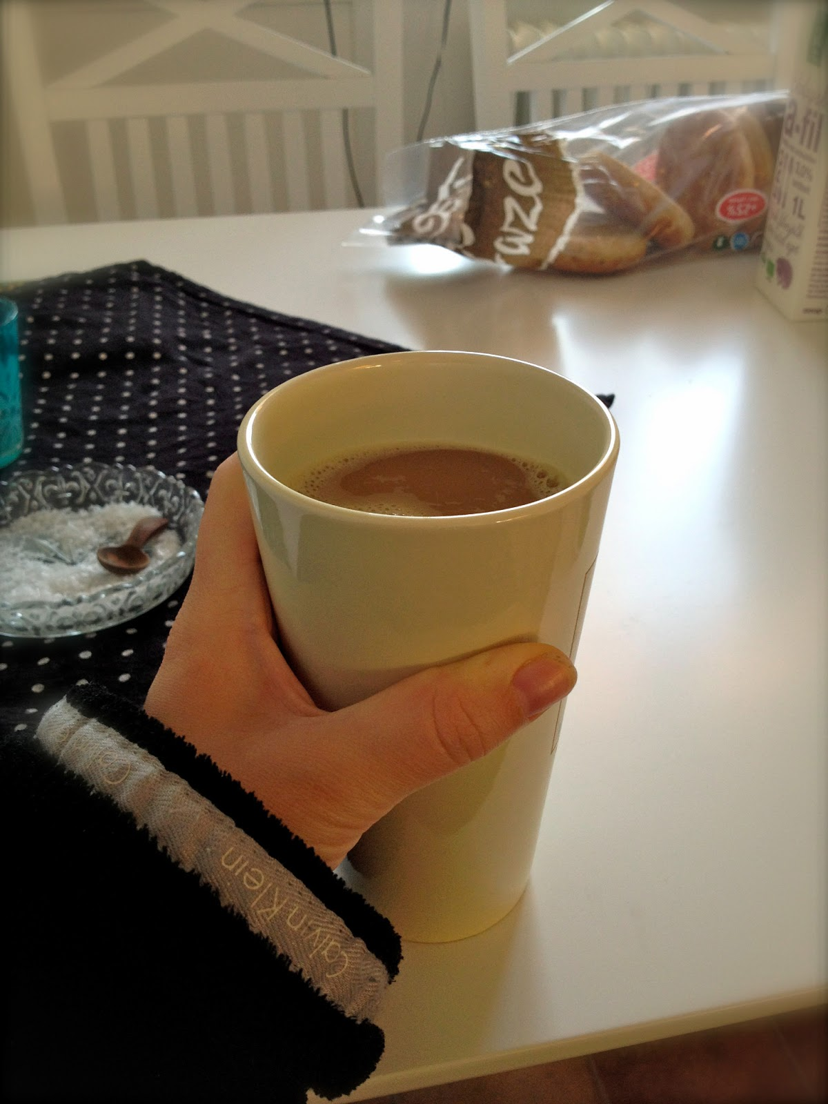 kaffe med mjölk kcal