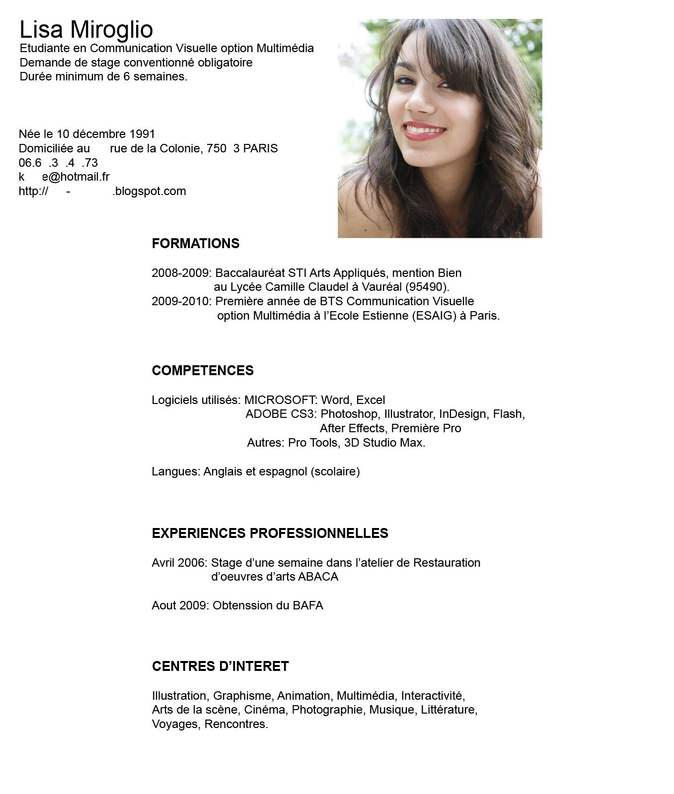 FPEmpleo: CV Estudiante