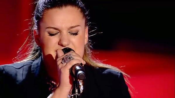 Sara canta Cuando nadie me ve-La Voz 3. Audiciones a ciegas Gala 5