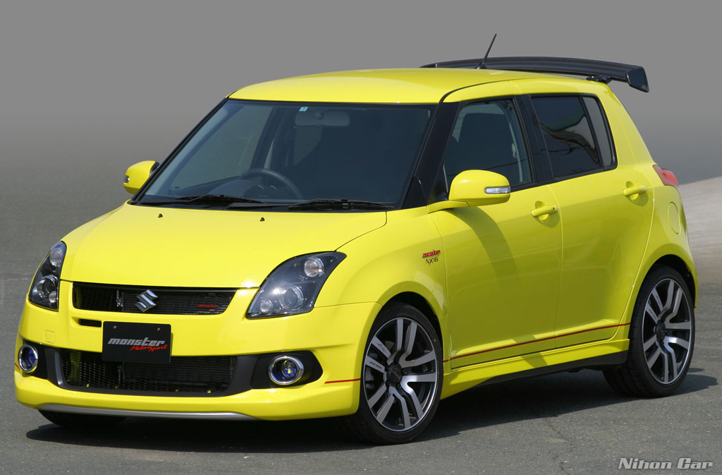 auto strikerzz maruthi suzuki swift modifications. Black Bedroom Furniture Sets. Home Design Ideas