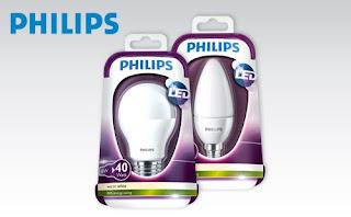 Żarówka Led Philips 6W i 4W z Biedronki