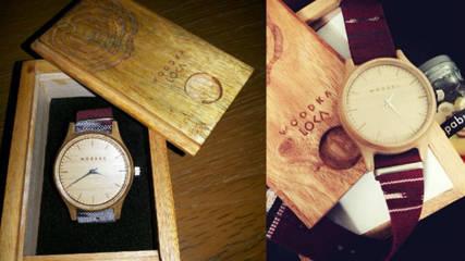 Woodka - jam tangan kayu Bandung