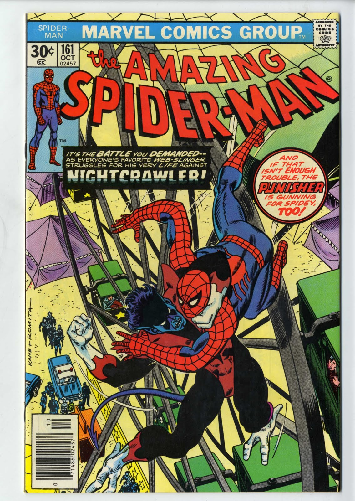 Frank Forte: Amazing Spiderman Covers-Silver Age Marvel part 2