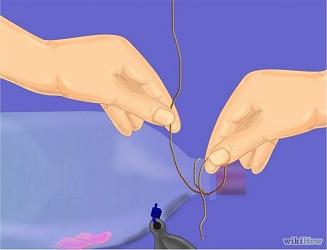 Buộc một sợi dây thừng nhỏ hoặc sợi dây bền mạnh để bẫy.