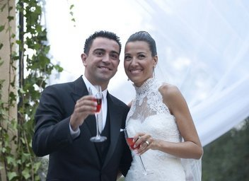 Xavi and Núria Cunillera are now husband and wife