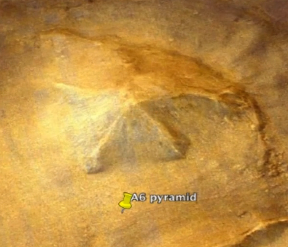 Giant Pyramid Structure Discovered On Mars, UFO Sightings