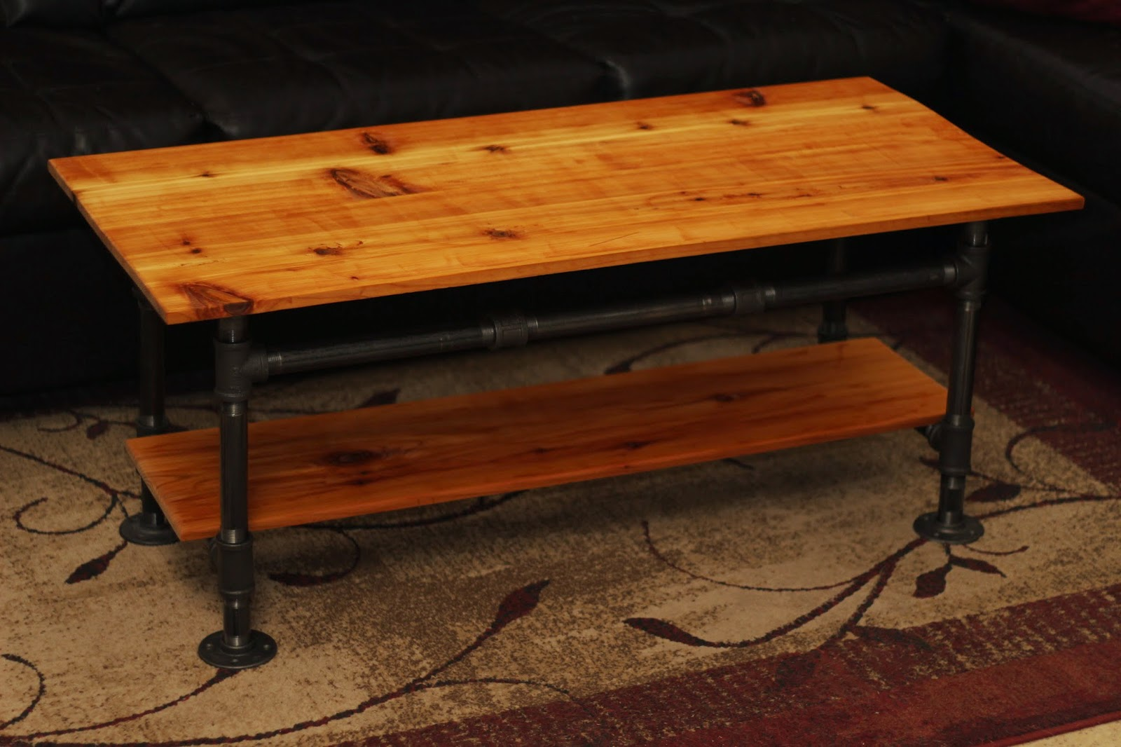 Rustic Diy Projects How To Red Cedar Steam Punk Coffee Table