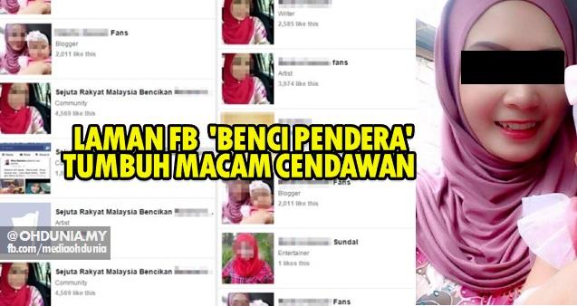 Wanita Suspek Dera Anak Tiri, Tarik Ramai 'Peminat' Di Facebook!..