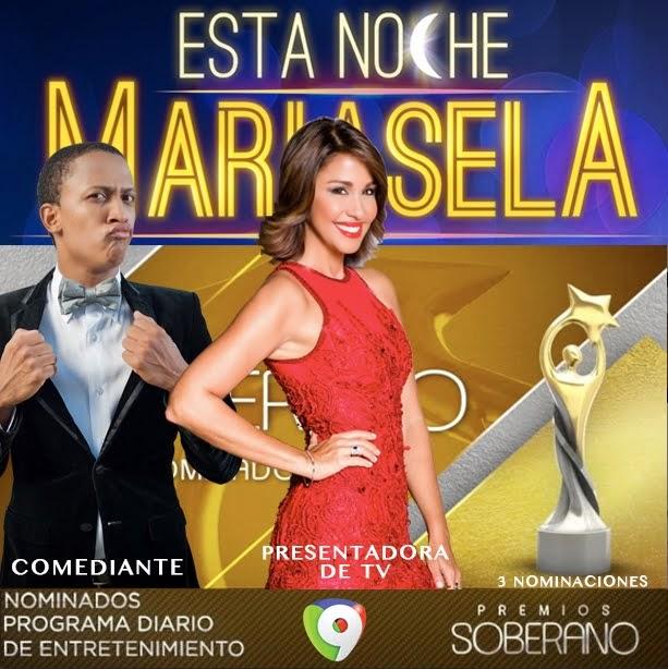 ESTA NOCHE MARIASELA 8PM X 9