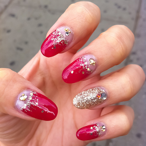 acrylic nails nail art design