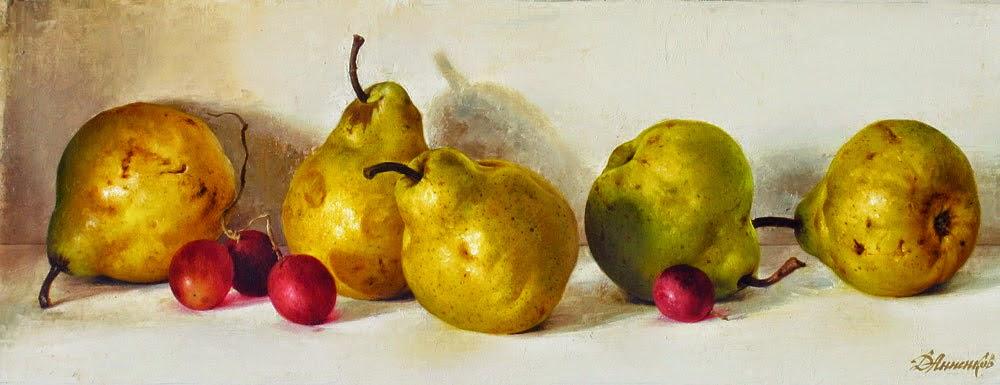 bodegones-con-frutas-pinturas-realistas
