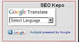Google Translate Melayang