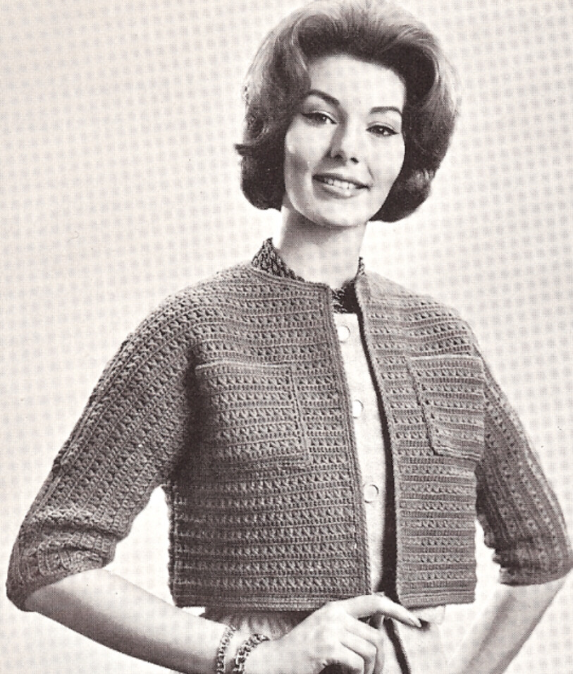 Free Vintage Crochet Bolero Patterns : Lady Vintage, The Hunter: ?Y que es Vintage?
