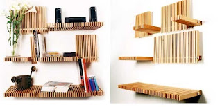 d mension shelf 30 of the Most Creative Bookshelves Designs