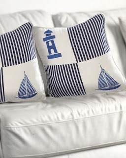 sailboat pillow