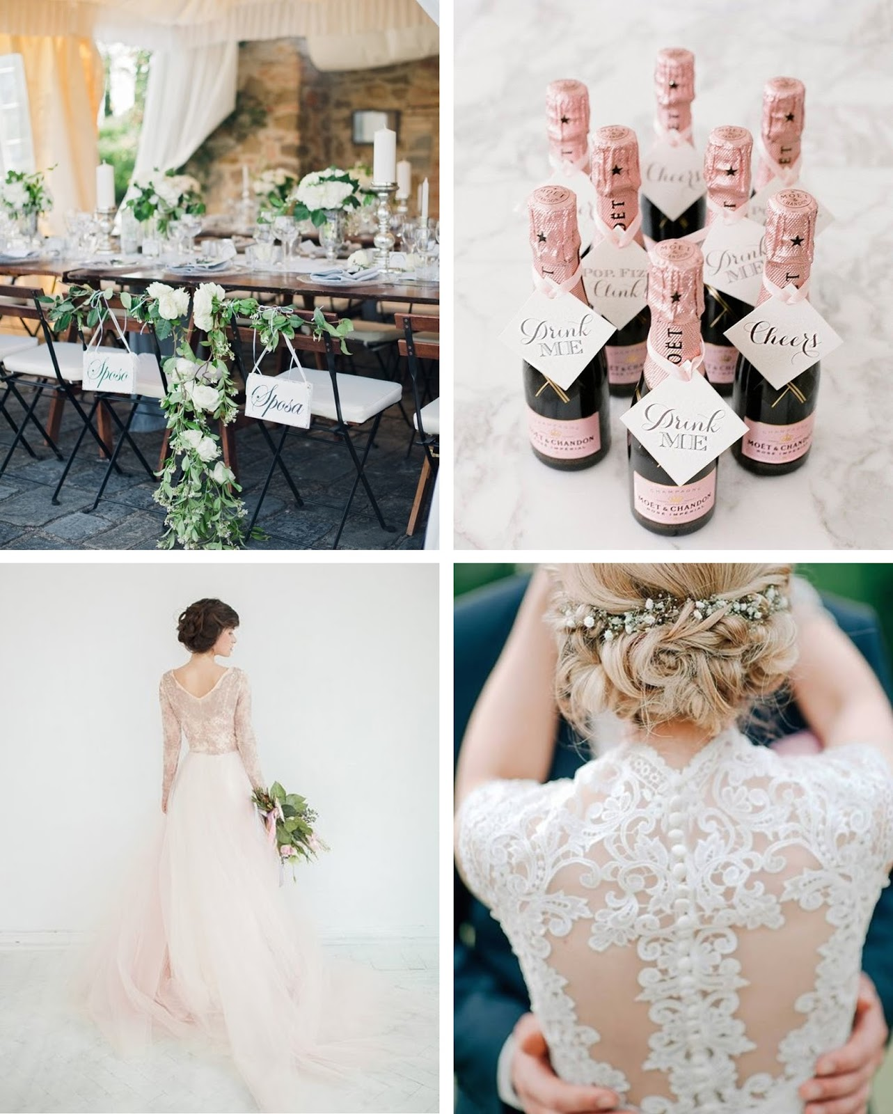 light, neutral, airy, beautiful wedding inspiration