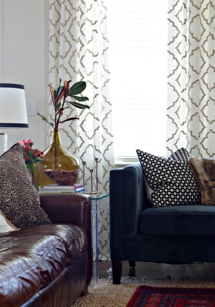 Living Room Curtain Panels Our Fifth House Bloglovin