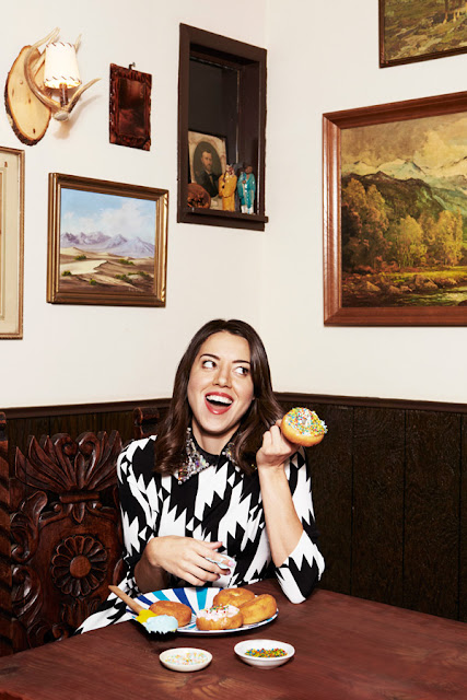 Aubrey Plaza Fashion Up ASOS Cover Magazine