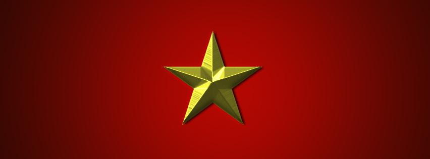 Ảnh bìa hình lá cờ Việt Nam