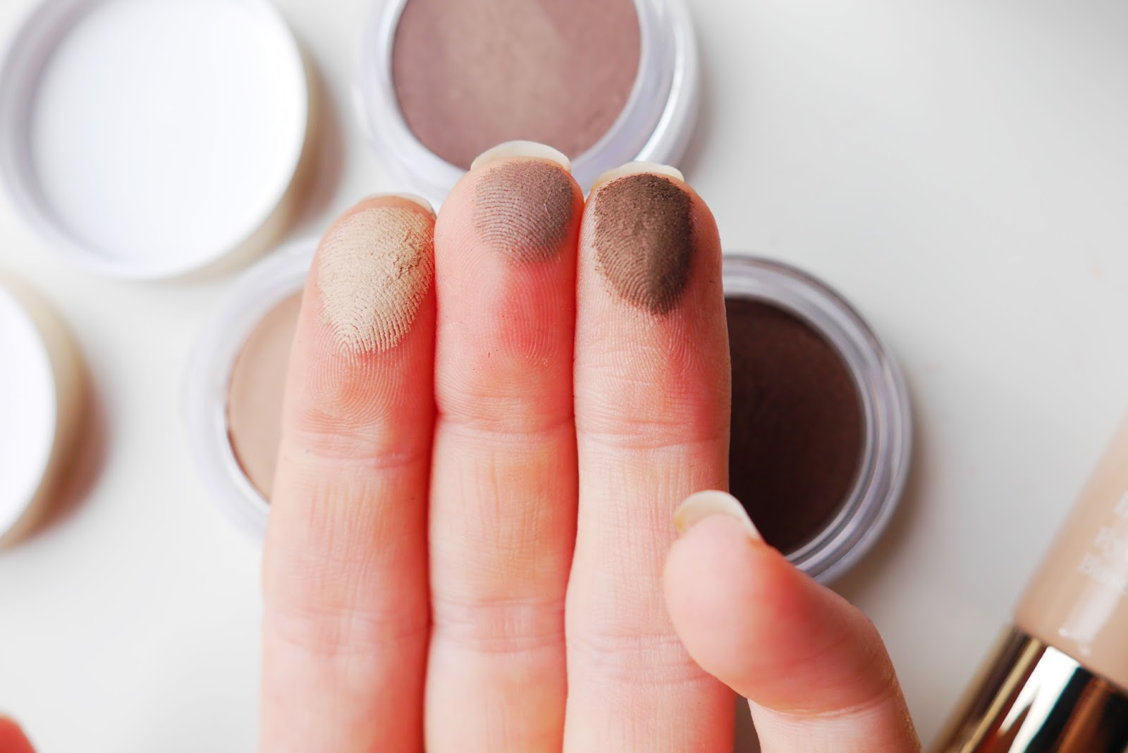 clarins ombre matte cream to powder eyeshadows