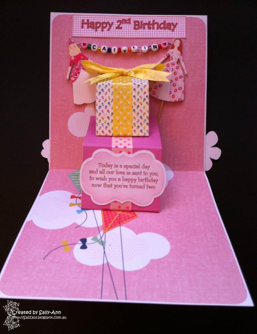My Crafty Corner A 2nd Birthday Card For Caitlin
