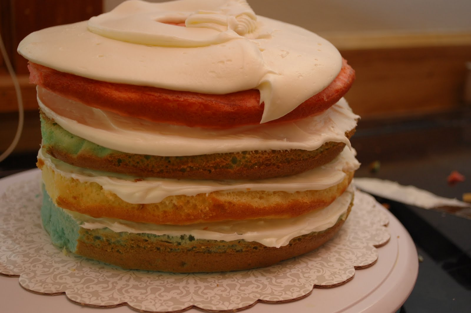 Every Pot and Pan: Easter Egg Layered Cake