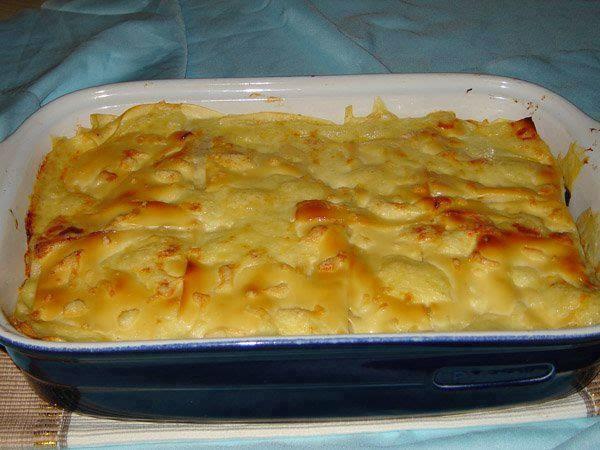 Lasagne aux crevettes